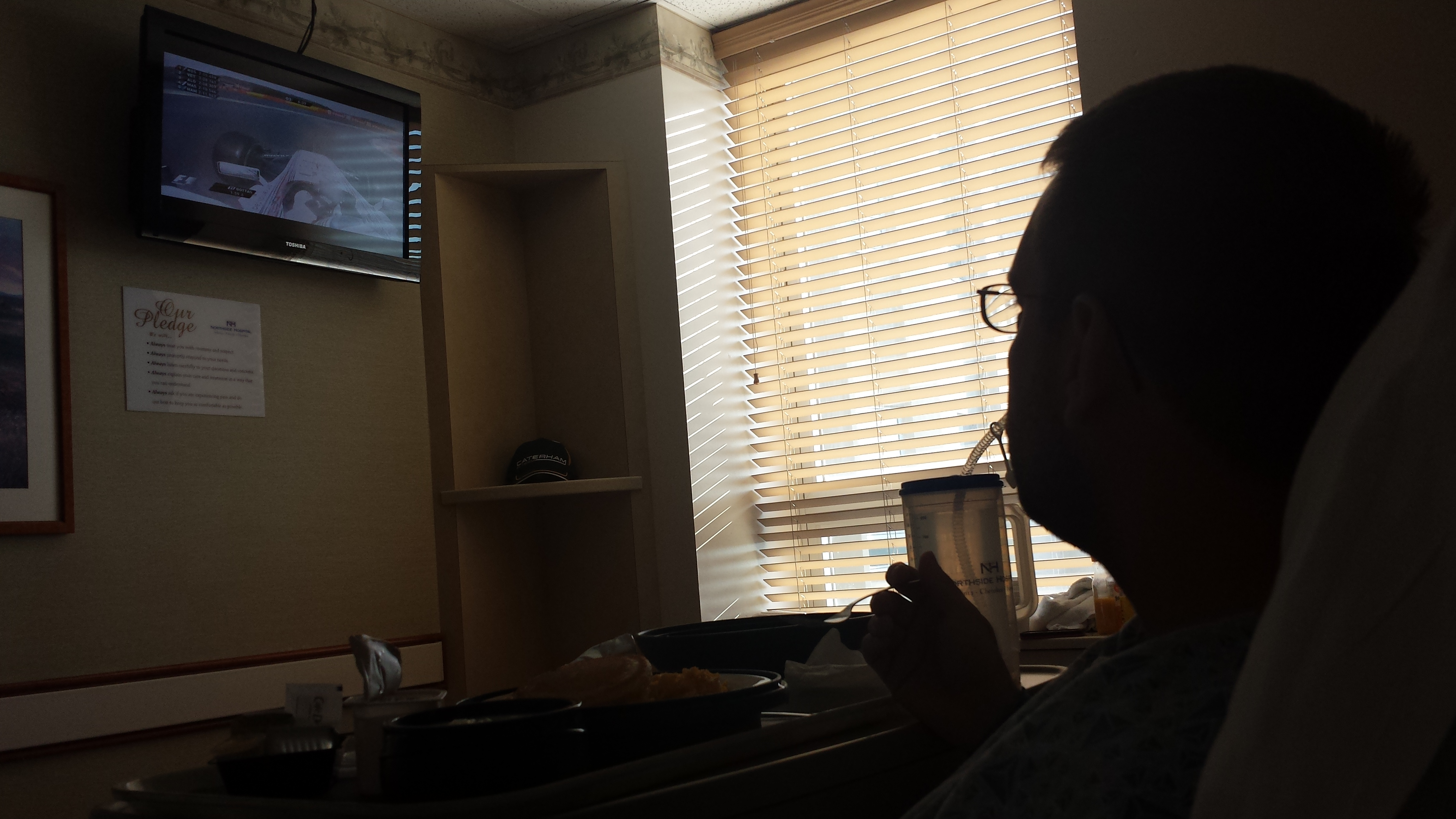F1 and breakfast
