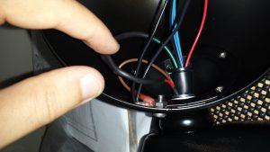 Headlight final wiring