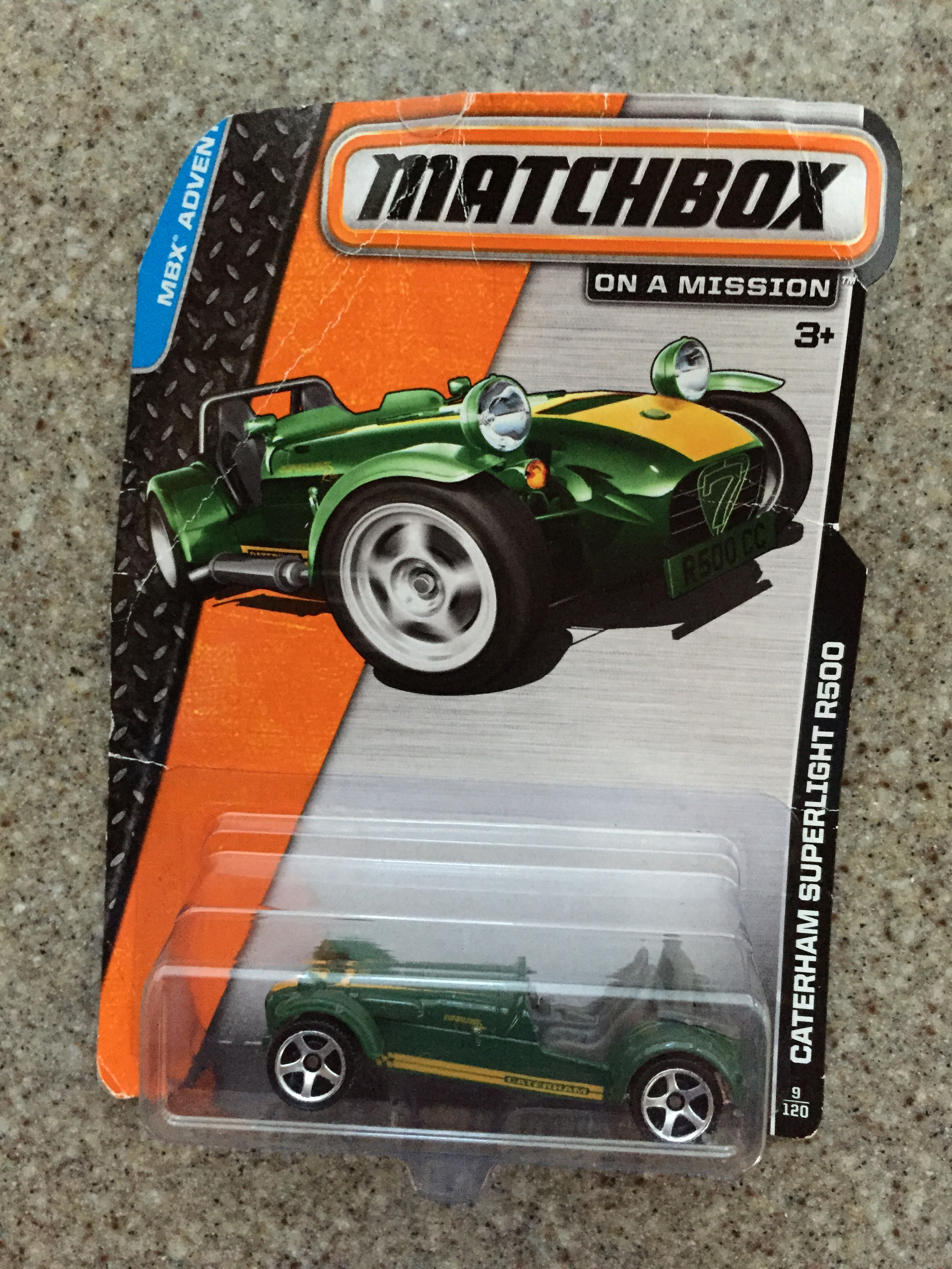 Another green Caterham